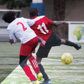 Match U12 AL Montchat vs ES Trinité